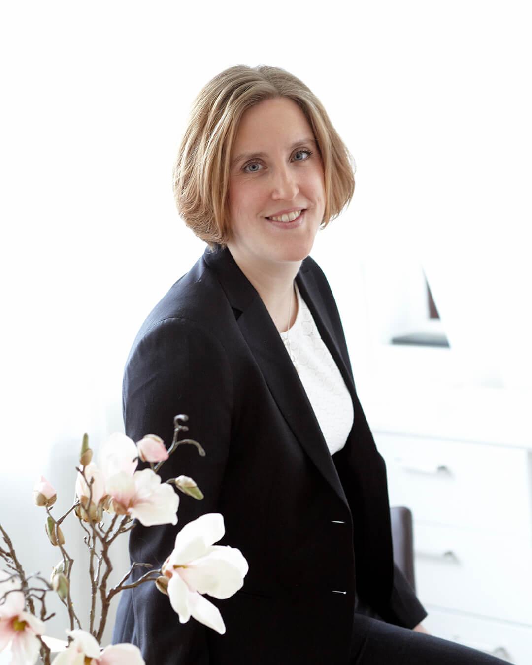 Porträttbild av Ann Bergström